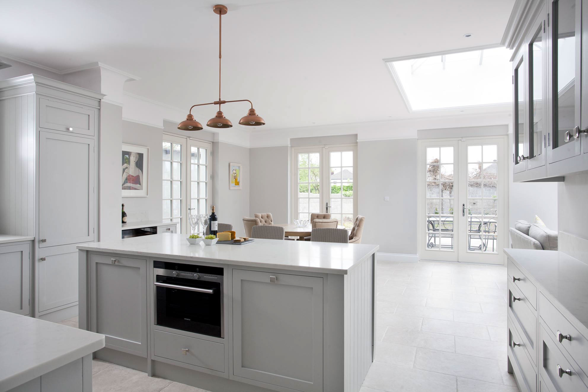 Handmade kitchens ireland luxury handpainted kitchens in for Apartment kitchen design dublin